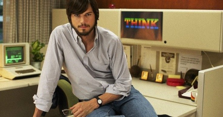 Ashton Kutcher as Steve Jobs