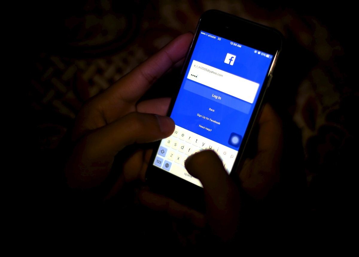 Stabbed by girlfriend over Facebook obsession