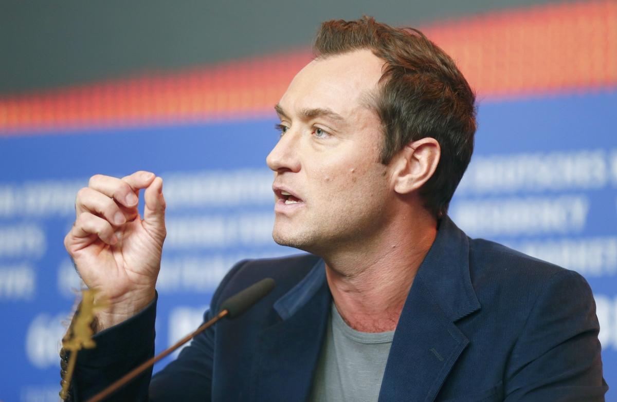 Jude Law at Berlin International Film Festival