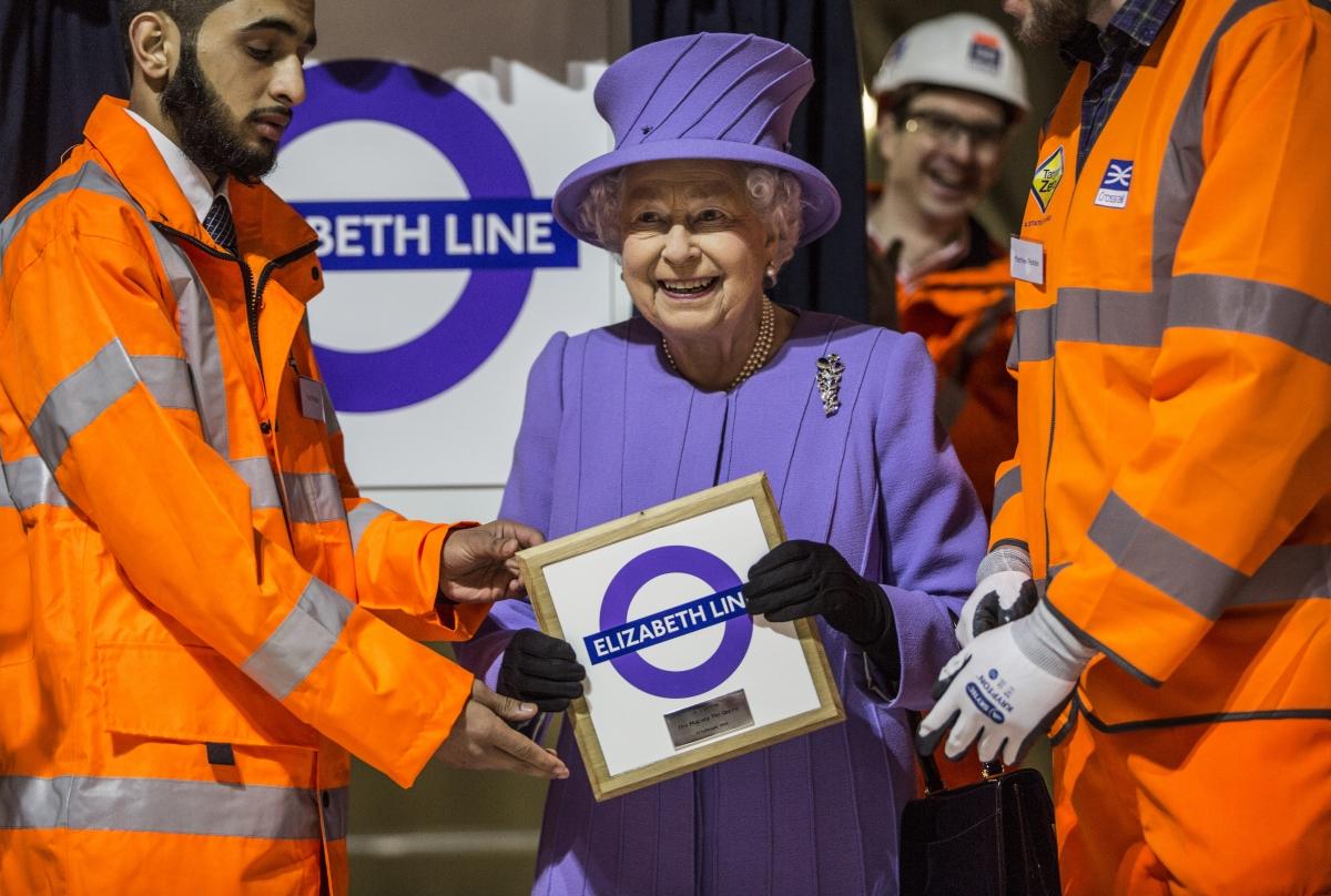 queen elizabeth line crossrail