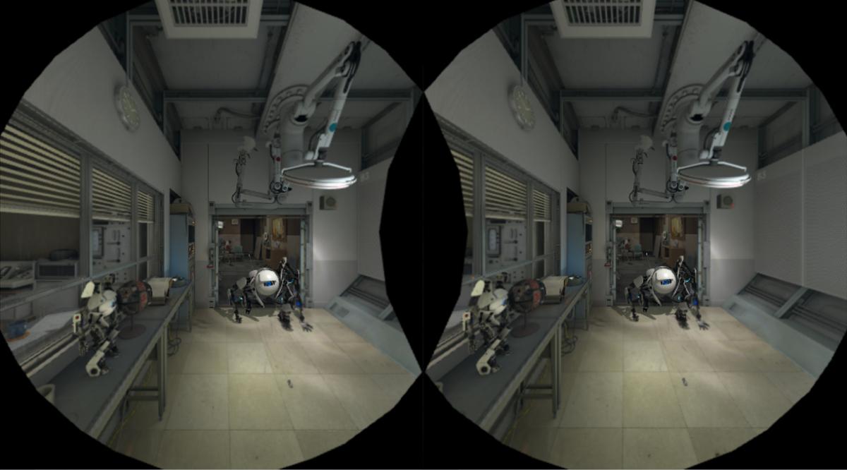 HTC Vive VR Test