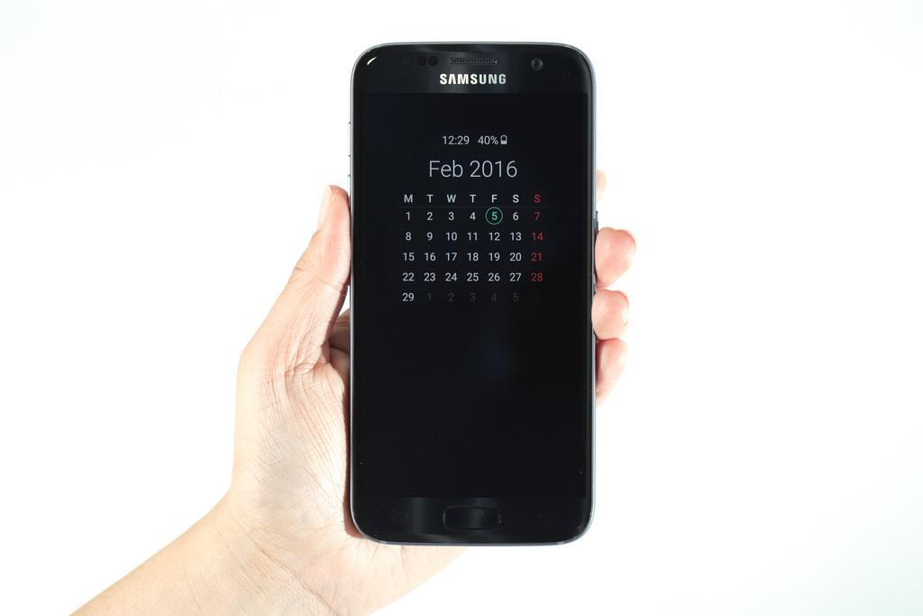 Samsung Galaxy S7 always on display
