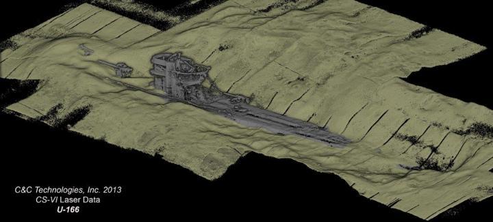 WWII u boat shipwreck