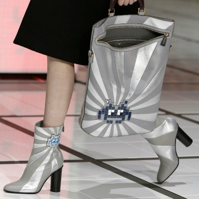 london fashion week shoes and bags