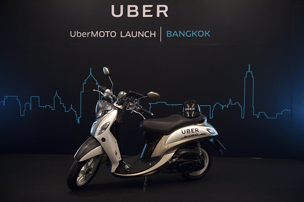 Uber's new motorcycle service – UberMOTO which will pilot in Thailand