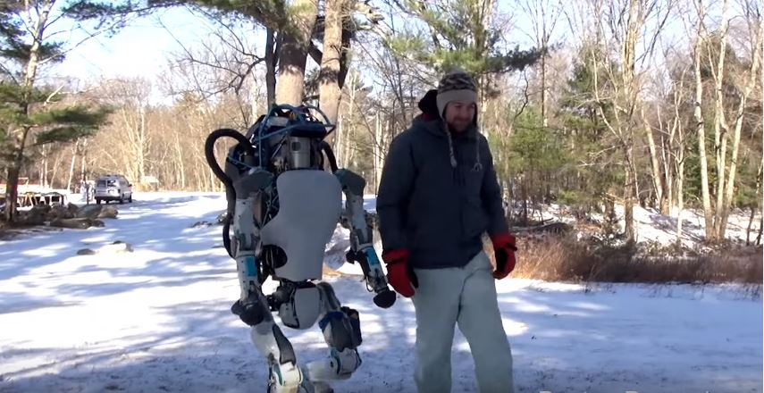 New Atlas Robot