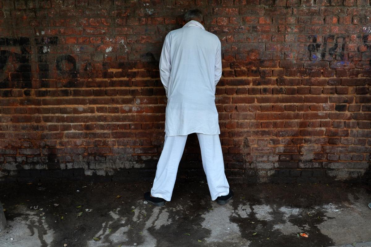 India public peeing