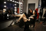 Kendall Jenner and her waxwork