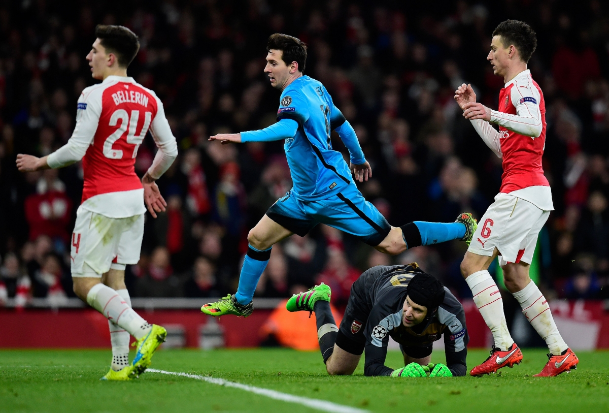 Barcelona defeated Arsenal 2-0 at the Emirates