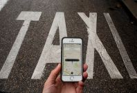 Uber drivers launch own app Swift