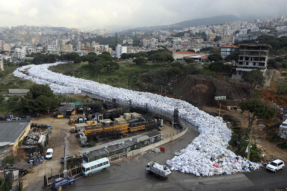 Beirut rubbish