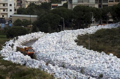 Beirut rubbish