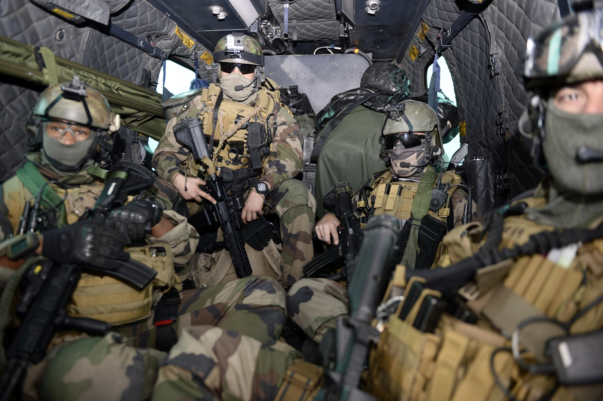 French Air commandos