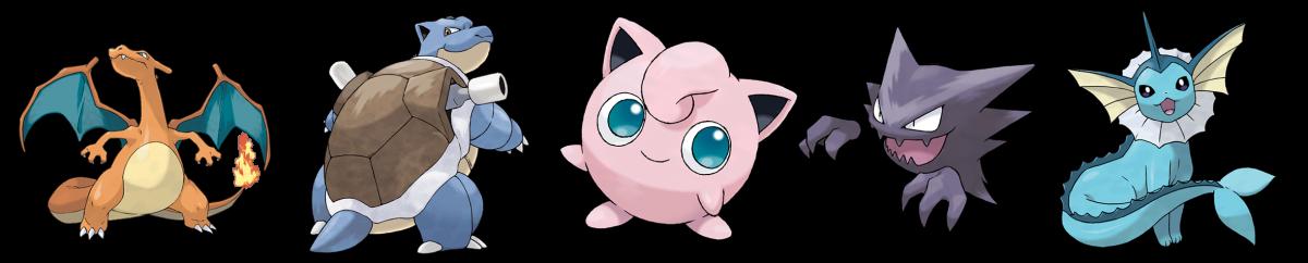 Pokemon Best Designs Gen 1