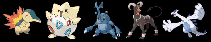 Pokemon Best Designs Gen 2