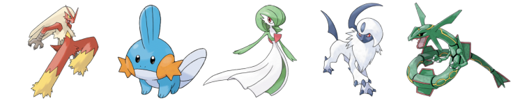 Pokemon Best Designs Gen 3