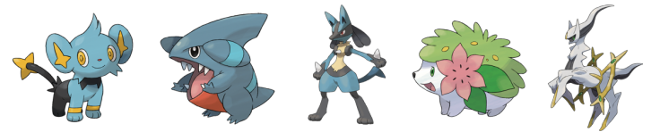 Pokemon Best Designs Gen 4