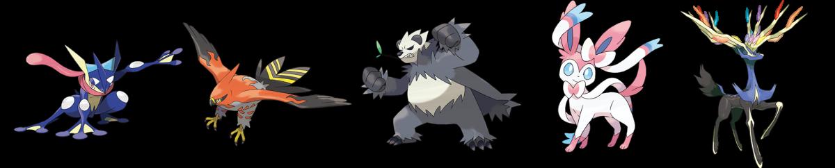 Pokemon Best Designs Gen 6 X Y