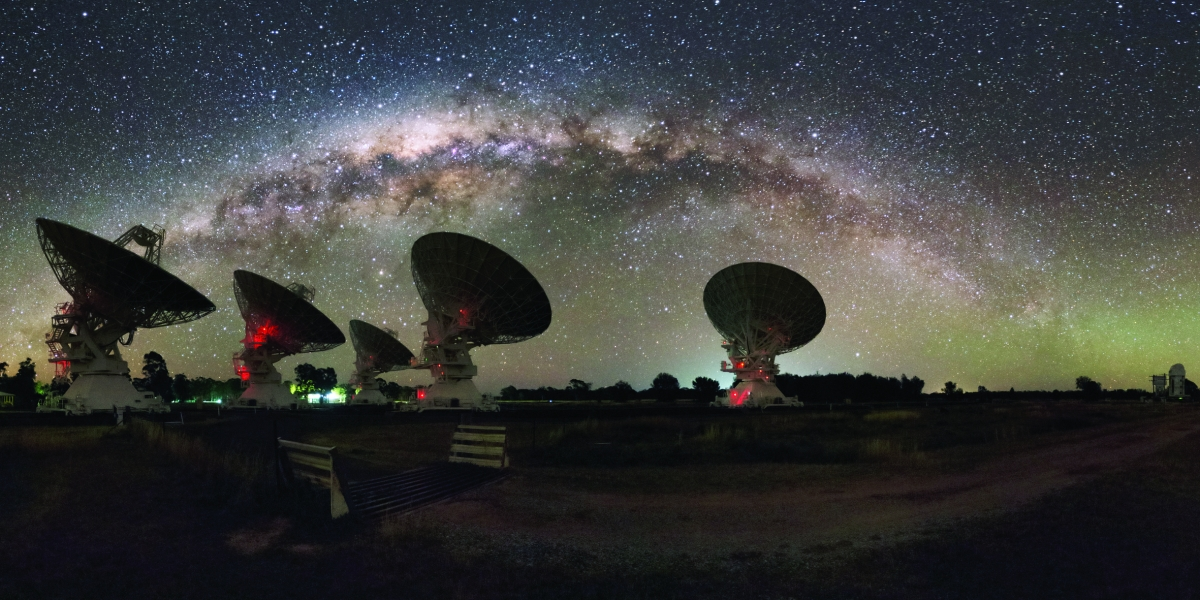 CSIRO's Compact Array in Australia