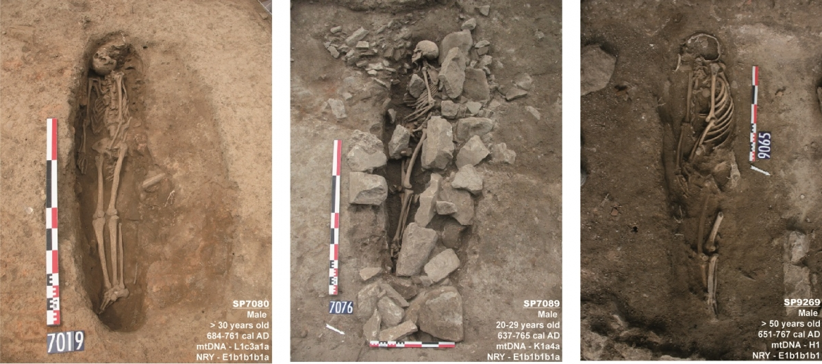 earliest 7th century muslim graves discovered in south of