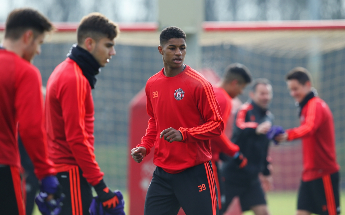 Manchester United Louis Van Gaal To Turn To Marcus Rashford