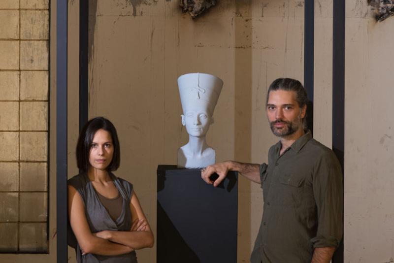 German artists Nora Al-Badri and Jan Nikolai