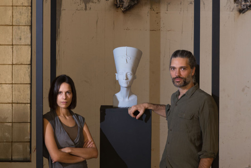 German artists Nora Al-Badri and Jan Nikolai