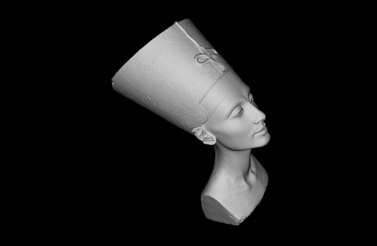 Nefertiti 3D model