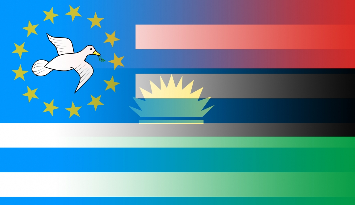 Biafra and Souther Cameroons flags