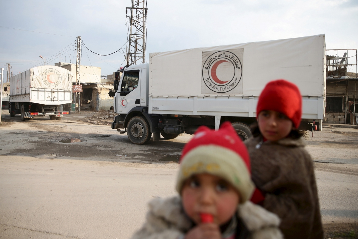 Syria humanitarian aid