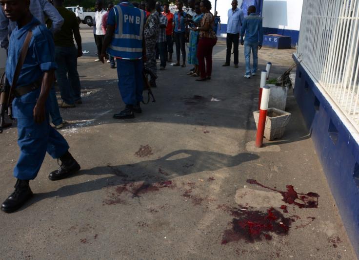Grenade attacks in Bujumbura, Burundi