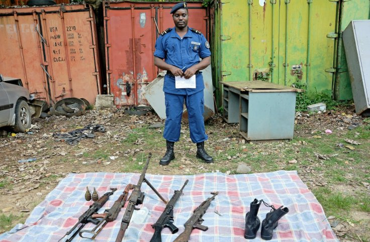 Armed opposition groups in Burundi