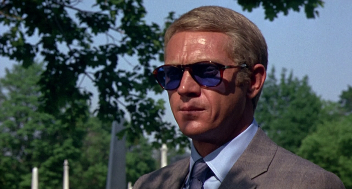 Steve McQueen in The Thomas Crown Affair