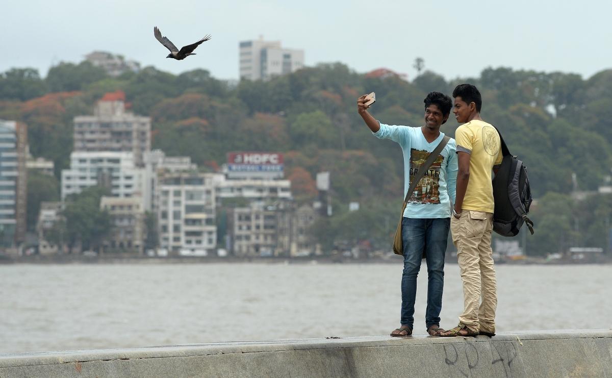 Mumbai selfie