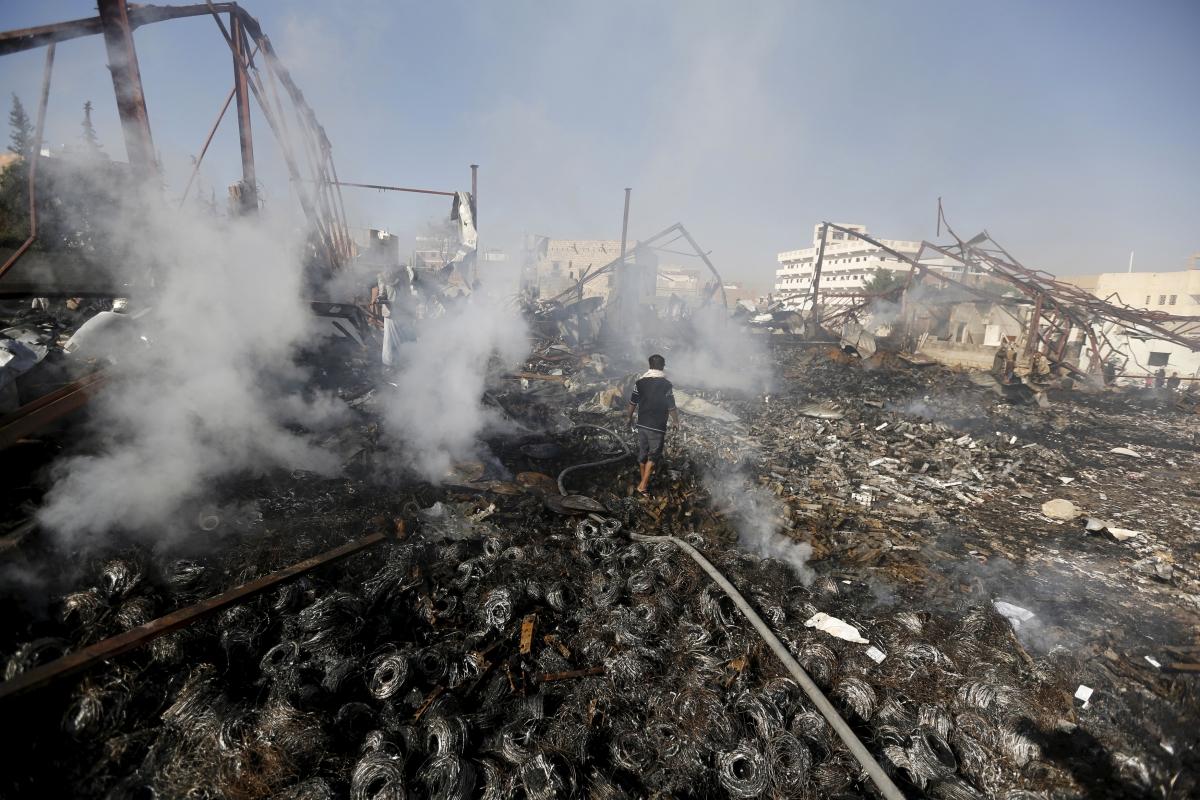 Saudi airstrikes Yemen