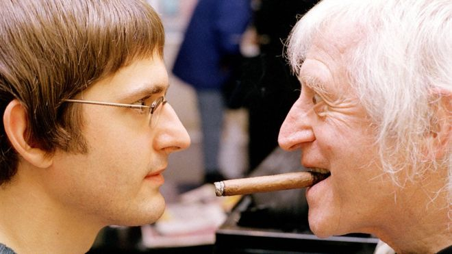 Louis Theroux and Jimmy Savile