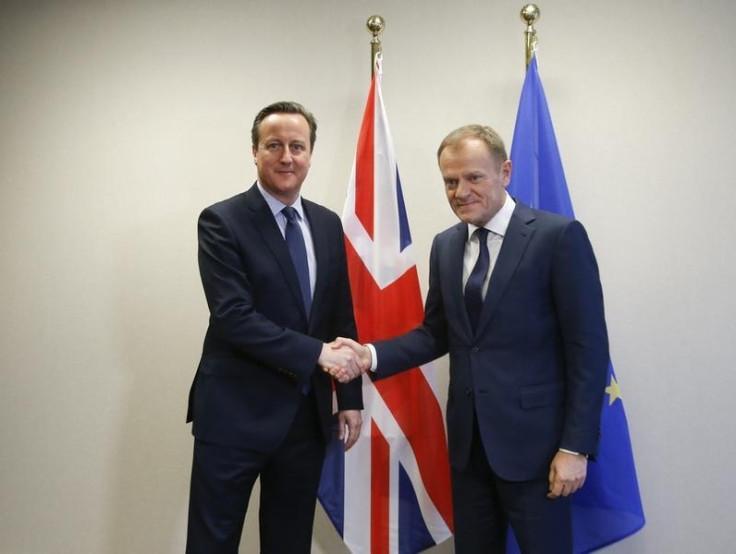 David Cameron and Donald Tusk