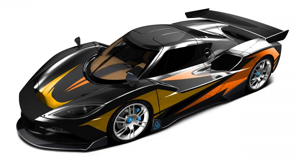 Arash F10 hybrid supercar