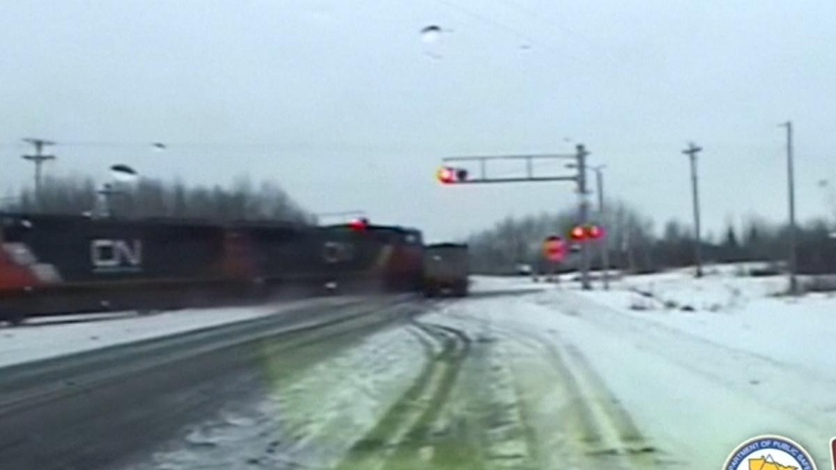 Railroad crash