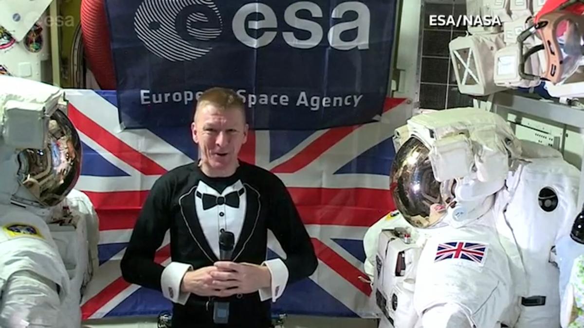 Tim Peake on ISS
