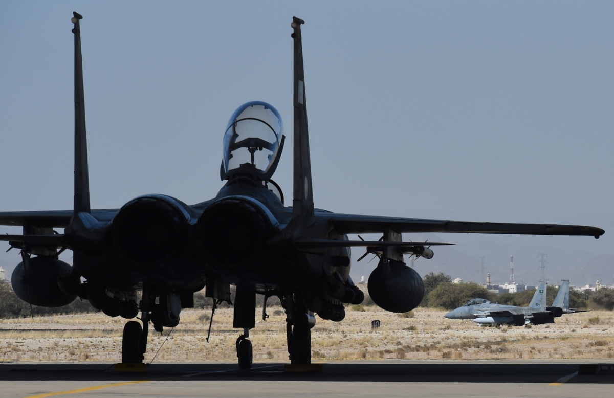 Saudi jets Turkey