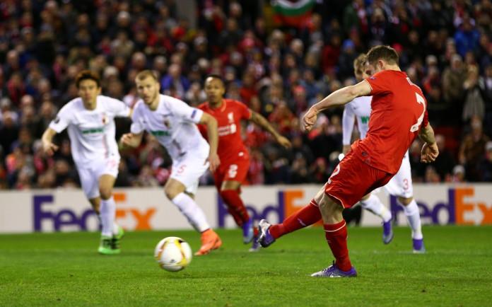 James Milner scores