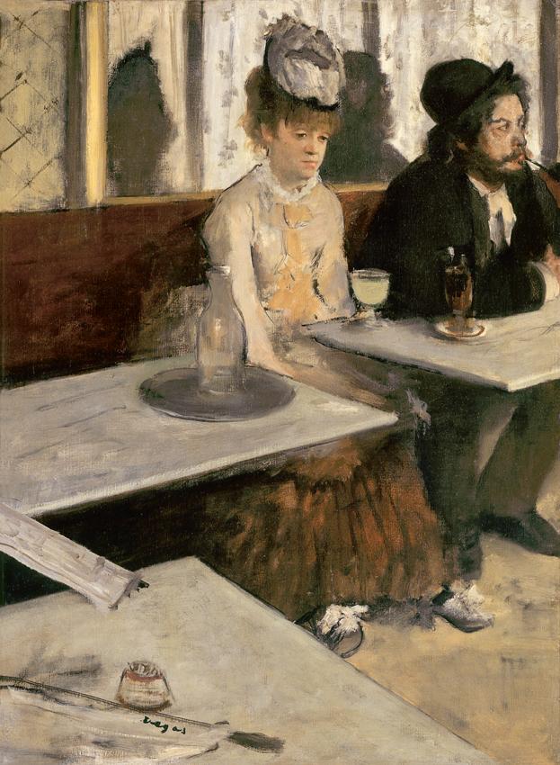Edgar Degas, Absinthe, 1875–6