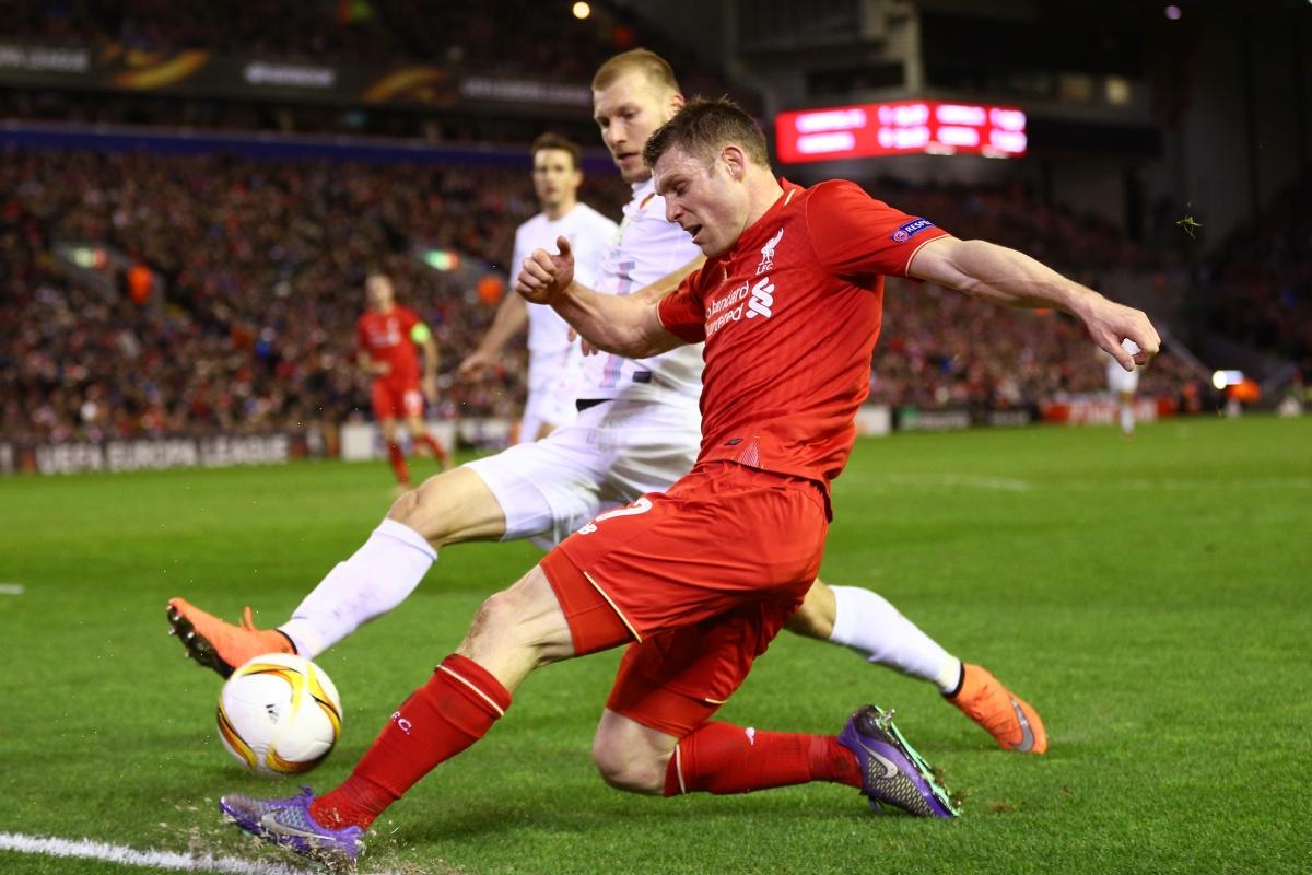 James Milner in action