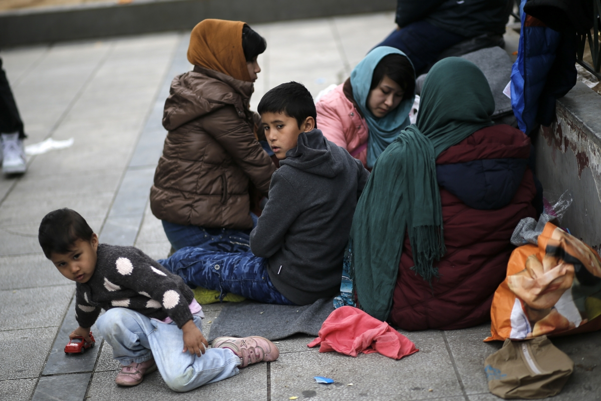 migrant crisis Athens Greece Feb 2016
