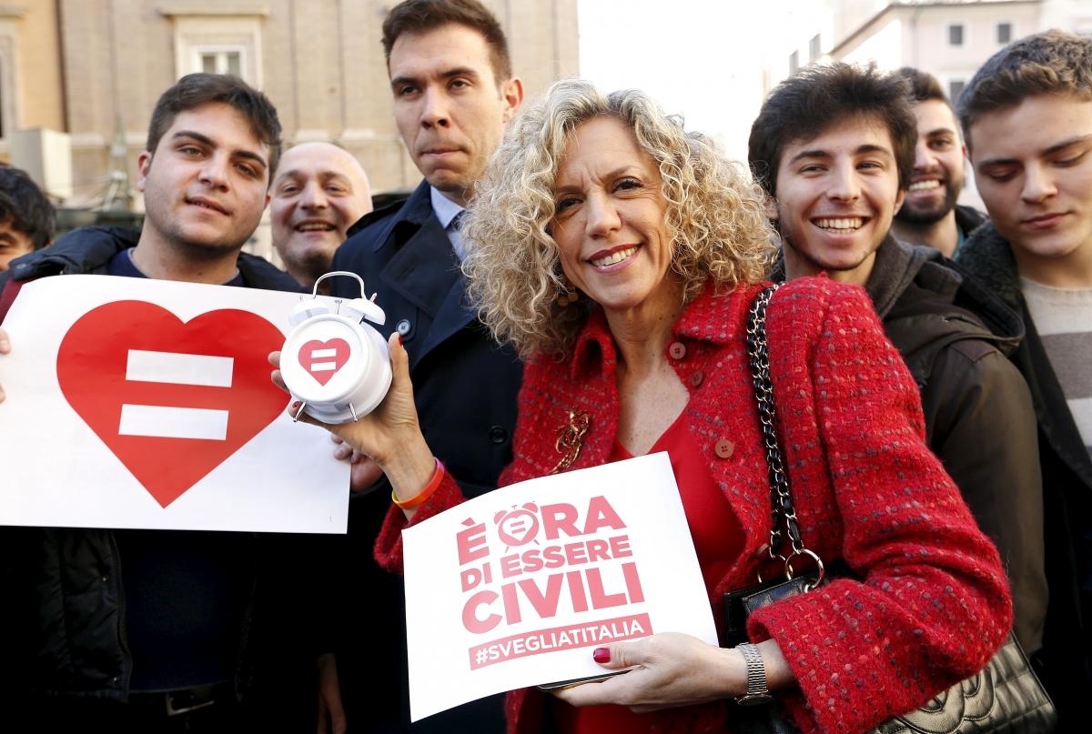 Italian gay marriage
