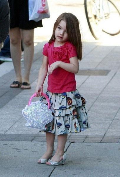 Suri Cruise Top Fashion Moments of the Mini Fashionista.
