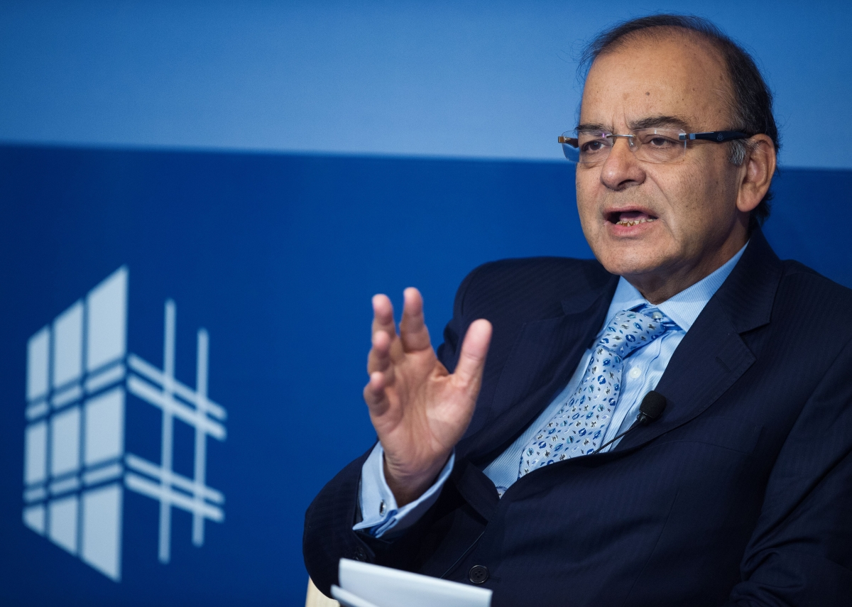 India Finance Mnister Arun Jaitley