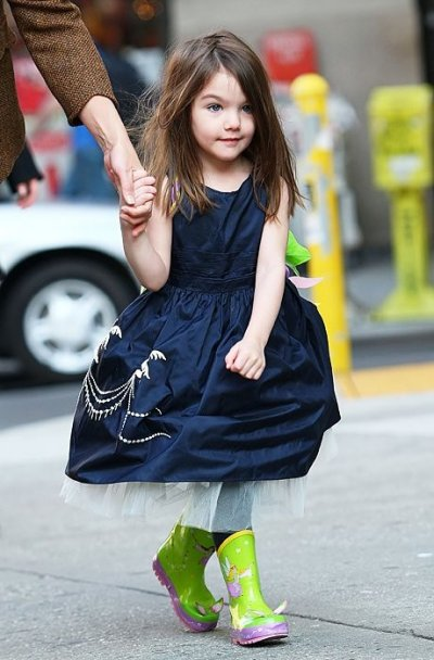 Suri Cruise Top Fashion Moments of the Mini Fashionista.