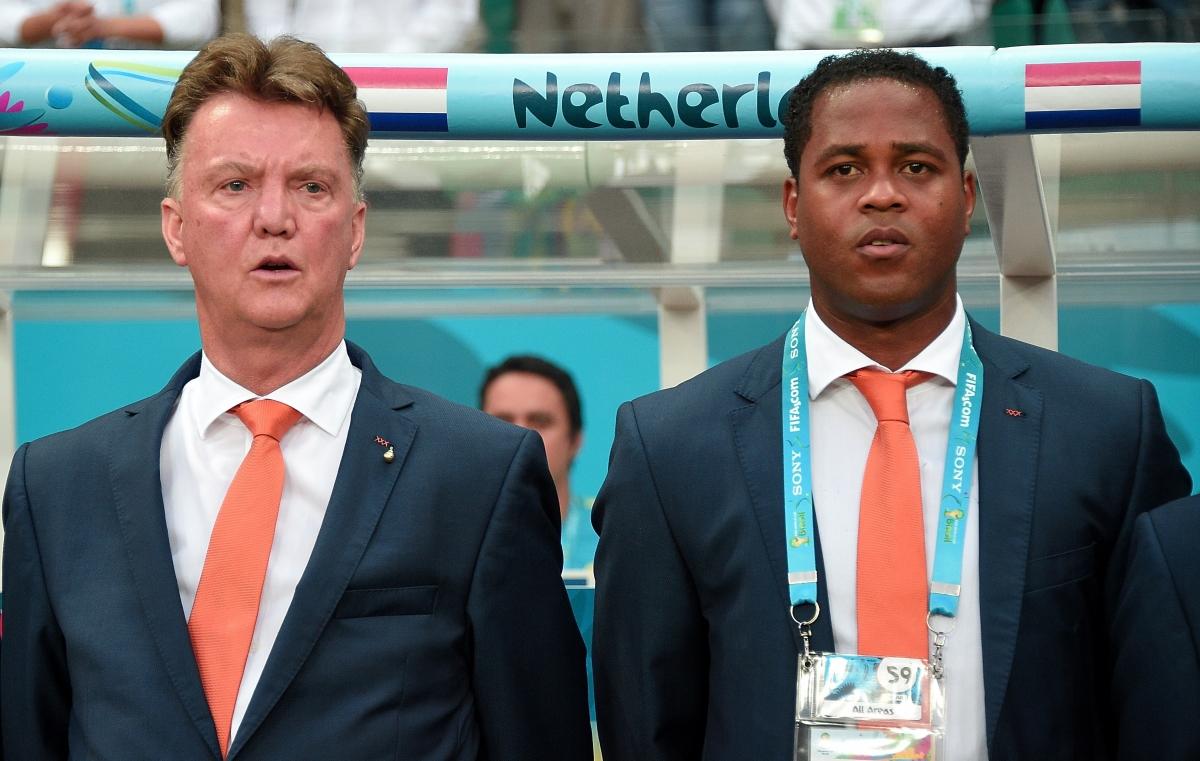 Manchester United: Patrick Kluivert Claims Louis Van Gaal